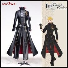 Lucky 3 UWOWO อะนิเมะ Fate Grand ORDER คอสเพลย์ Fate Gilgamesh คอสเพลย์เครื่องแต่งกาย Concept ชุด Cool ผู้ชายผู้หญิง