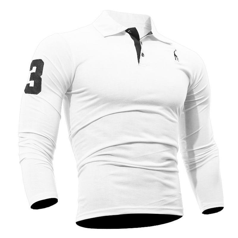 Mens Polo Shirt Long  1