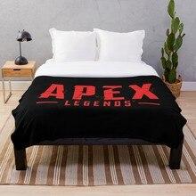 цена на Apex Legends Red Throw Blanket Soft Sherpa Blanket Bed Sheet Single Knee Blanket Office Nap Blanket