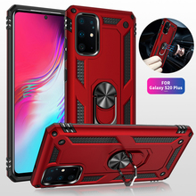 S20 Ultra Plus S20 Fe S20FE S21 S 21 Plus Ultra Case Shockproof Armor Ring Stand Cover Voor Samsung Galaxy s20 Ultra Plus S20 Fe