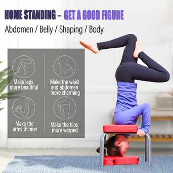 Multi functional handstand chair Fitness Yoga inverted stool household fitness equipment inverted artifact handstand machine