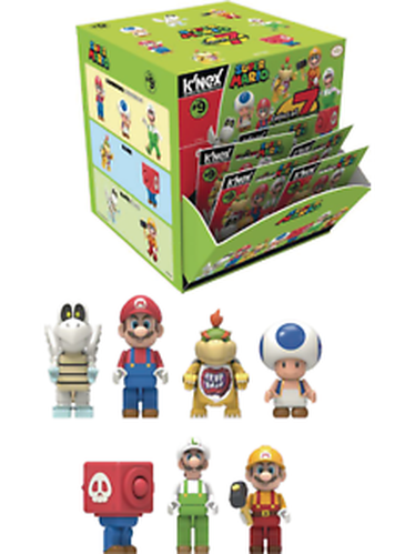 Super Mario Blind Bag Mini Figure Gifts For Children Fancy Cumpleanos