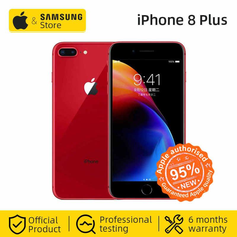 Оригинальный мобильный телефон Apple iphone 8 Plus с шестиядерным процессором iOS 64 Гб/256 ГБ ROM 5,5 дюймов 12 МП отпечаток пальца LTE