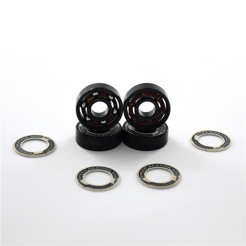 Speed Bearing 6-beads Smooth Lubricated High Quality ABEC-11 Level ILQ-11 Skating Bearing For Roller Patines 608RS Pro 8 Pieces