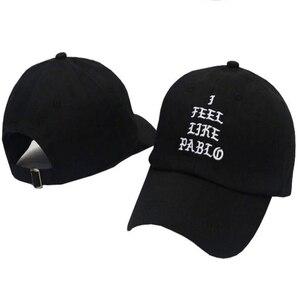 Kanye West/бренд I feel like pablo, модная кепка для гольфа, шляпа для папы и папы, Солнцезащитная хлопковая бейсболка для женщин и мужчин