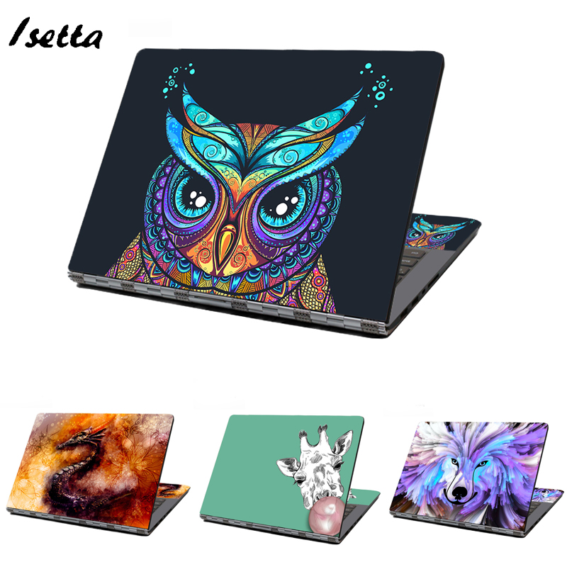 Animal Laptop Sticker Notebook   Sticker Laptop Skin Cover Art Decal Fit  HP Dell Lenovo  Asus  Acer Customize Your Iamge