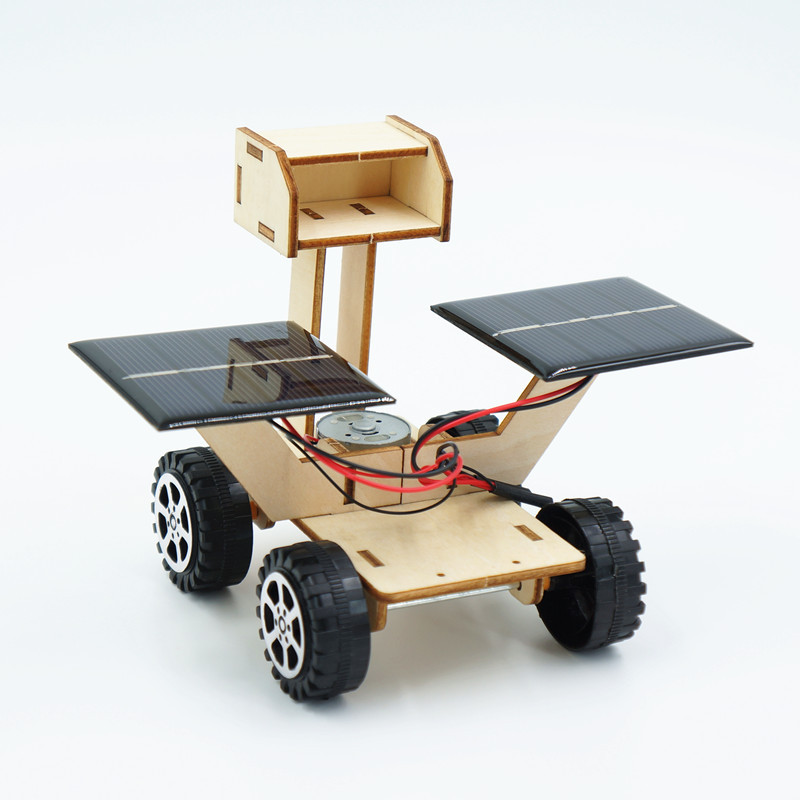 montagem de energia solar lua rover robo 01