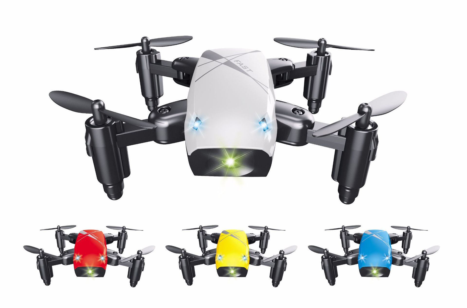 S9 Folding Mini Four-axis Aircraft Trill Wifi Aerial Photography Unmanned Aerial Vehicle Remote Control Airplane Children's Toy