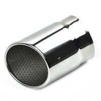 Acessórios tubo de escape exterior silenciador traseiro de aço inoxidável à prova dwaterproof água