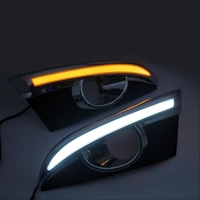 Led Drl For Chevrolet Captiva 2011 2012 2013 Daytime Running Light Front Bumper Driving Fog Lamp Daylight Headlight Turn Signal
