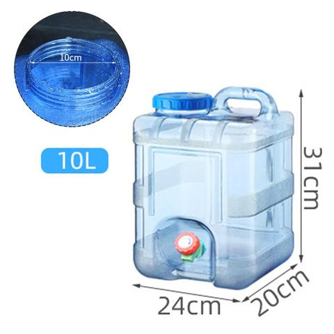 10l pc recipiente de agua ao ar