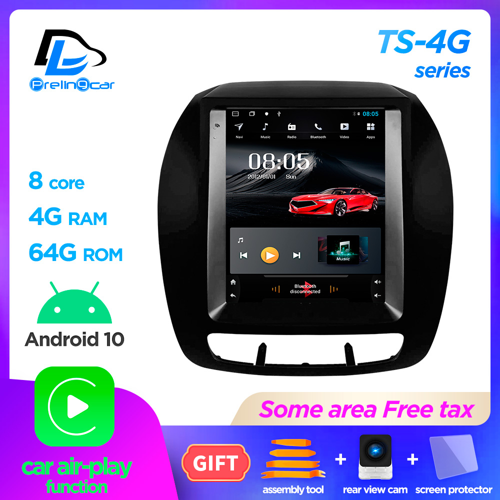 4G LTE Vertical screen for kia sorento 2013 2014 years android 10.0 system navigation stereo car multimedia video radio player image