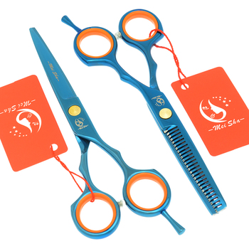 Meisha 5.5 inch Professional Hair Cutting Thinning Styling Tool Japan 440c Hairdressing Scissors Set Salon Shears A0027A
