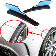 สำหรับ Mercedes Benz W176 A160 A180 A200 A250 A45 AMG 2013-2019 รถ Fender Flares Mud Flaps Splash Guards ล้อเลื่อน Arch Eyebrow Lip(China)