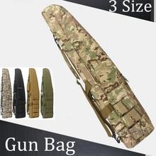 71cm, 95cm, 115cm Tactical Heavy Duty Gun Carrying Bag Airsoft Paintball Shoulder Rifle Case Hunting Shotgun bags