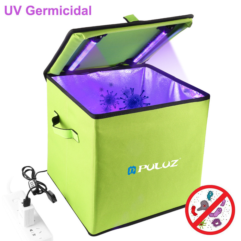 Portable Ultraviolet Disinfection Box 30cm Domestic Sterilization Box USB-powered Kill 99.9% Mold Bacteria Germs And Viruses