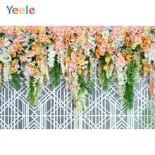 Yeele Wedding Ceremony Flower Wall Ins Fence Decor Photography Backdrops Personalized Photographic Backgrounds For Photo Studio