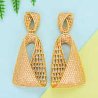 GODKI luxe goutte d'eau cubique Zircon CZ longues boucles d'oreilles pour femmes de mariage DUBAI boucles d'oreilles goutte boucle d'oreille femme 2018