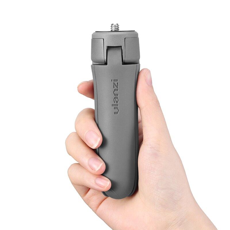 Ulanzi MT-10 mini tripé para osmo móvel 2 3 cardan tripé base acessórios de viagem vlog tripé para smartphone dslr slr câmera