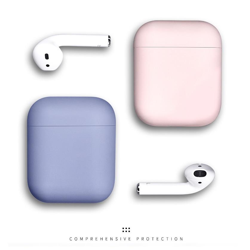 Apple Airpods korpusu üçün vəziyyətlər 1/2 şirin qoruyucu - Portativ audio və video - Fotoqrafiya 2