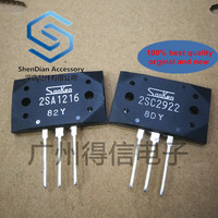 11-31pairs only orginal new 2SA1216Y 2SC2922Y A1216 C2922 Sanken brand new original imported power amplifier tube