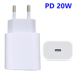20W PD QC4.0 QC3.0 Fast Charger for Apple iPhone 12 11 Pro iPad mini Samsung S20 Ultra NOTE 20 10 USB Quick Charge Adapter