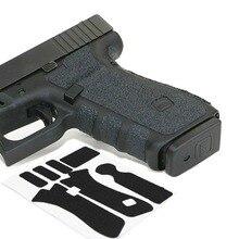 Нескользящая резиновая текстурированная ручка обертывание лента перчатка для Glock 19 19X23 25 32 38 Gen 3 4 5 кобура 9 мм Пистолет Аксессуары для журналов