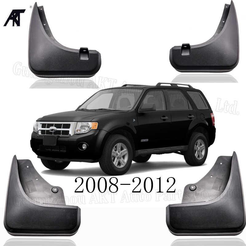 Guardabarros de coche para Ford Escape 2008-2012 Mercury Mariner 2009 2010 2011 guardabarros delantero y trasero