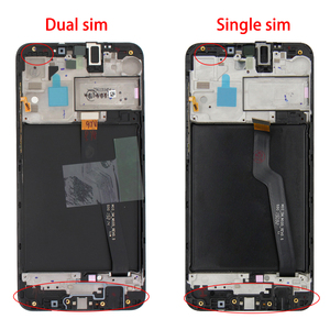 6.2'' For Samsung Galaxy A10 A105 LCD A105F SM-A105F Display Touch Screen Digitizer Assembly WithFrame For Galaxy A10 LCD Screen