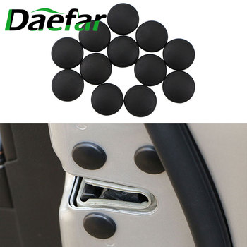 12pcs/Set Car Door Lock Screw Protector Cover Accessories for Mercedes Benz A180 A200 A260 W203 W210 W211 W204 C E S CLS CLK image