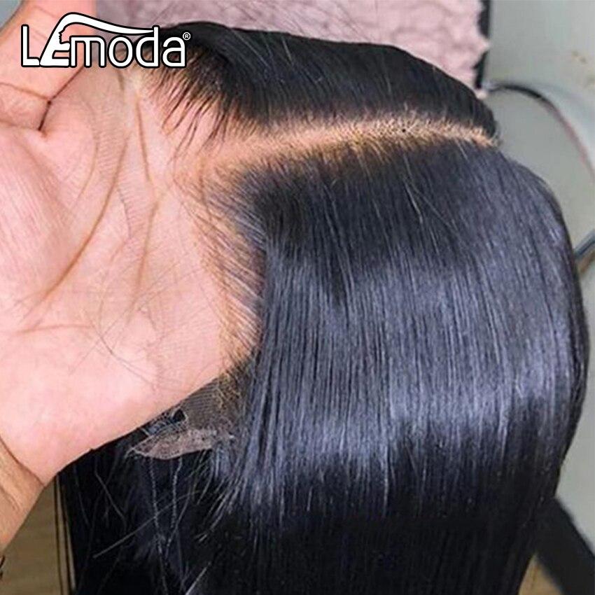 Парик из прозрачных волос HD 13x6, парик из натуральных волос на сетке спереди, парик с застежкой 4x4, бразильский 30 дюймов, прямой передний парик...