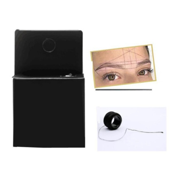 1 Box microblading mapping string line permanent makeup thread eyebrow tattoo pre Inked marker