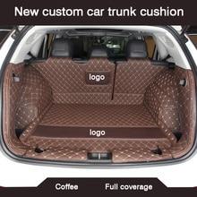 HLFNTF ใหม่ CUSTOM Car Trunk Cushion สำหรับ Honda Accord 2003 2007 Civic CRV 2008 CR V JAZZ Fit city 2008 รถอุปกรณ์เสริม