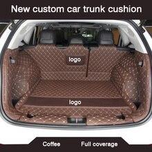 HLFNTF cojín personalizado para maletero de coche, accesorios impermeables para jeep grand cherokee 2014 compass 2018 commander