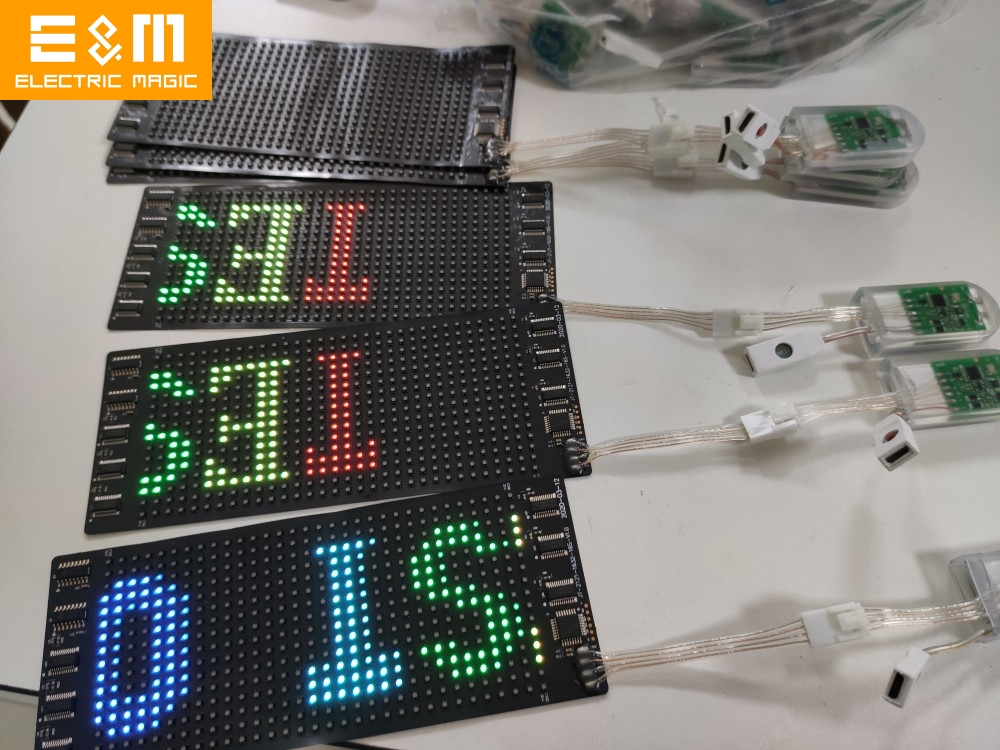 10 Languages Colorful Programmable…
