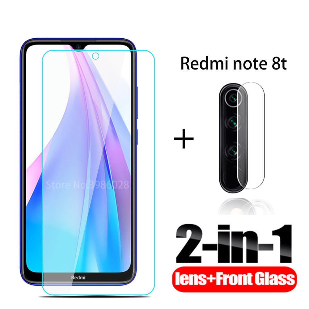 2 in 1 <font><b>camera</b></font> protective Glass for xiaomi redmi note 8T tempered Glass for xiaomi redmi note 8T <font><b>8</b></font> T note8T tempered film cover image