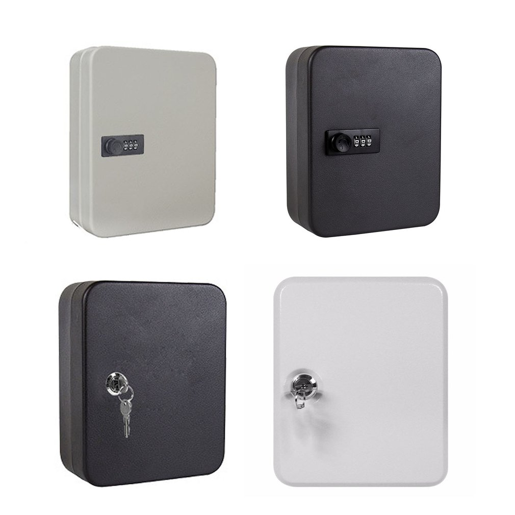 Key Box Household Wall-Mounted Password Key Cabinet Storage Box Management Box Wall-Mounted Car Key Box