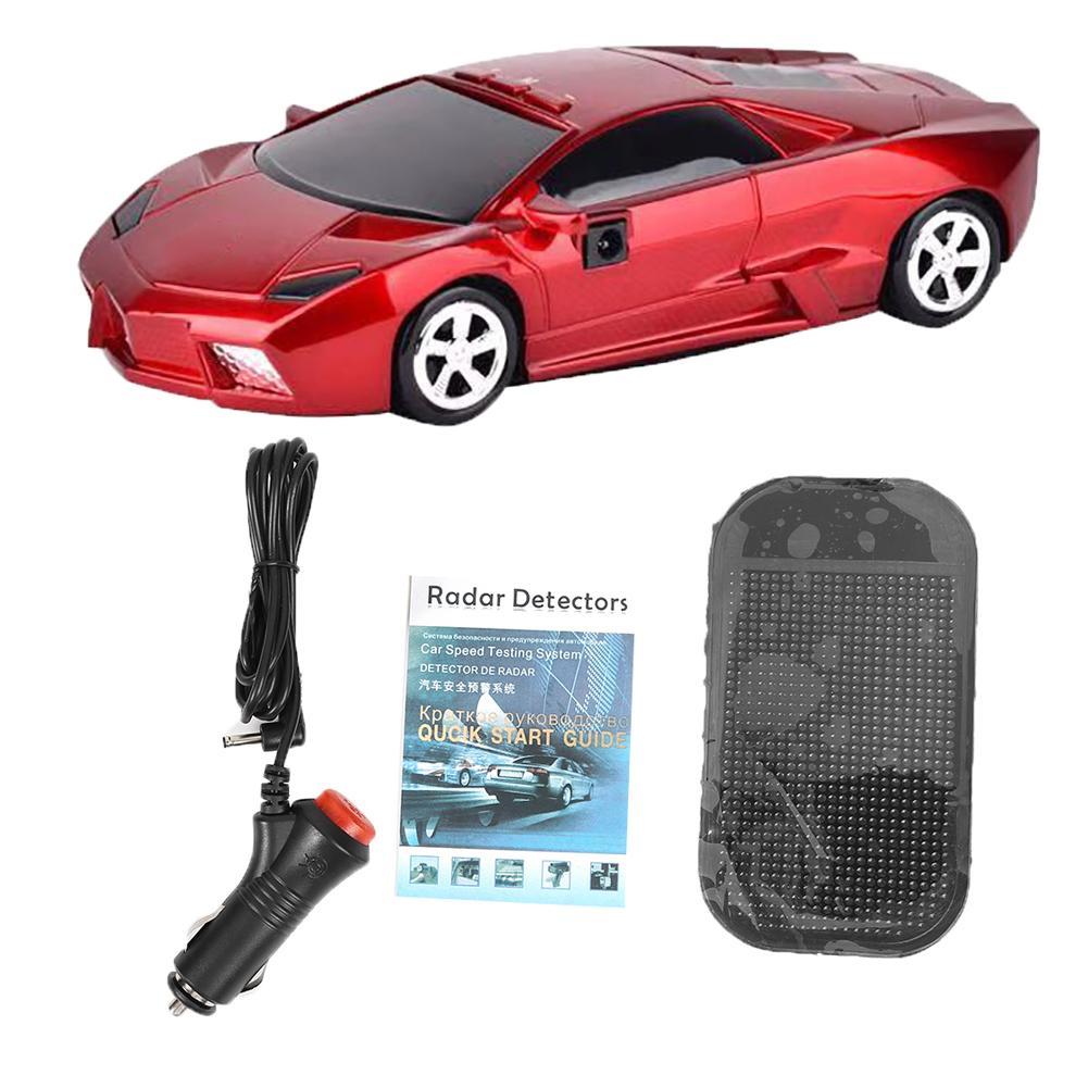 Автомобильная форма радары скорости обнаружения безопасности голосовое оповещение 360 градусов детектор автомобильные аксессуары маска ка...