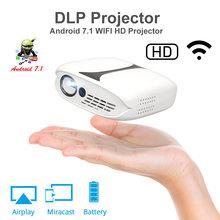 Rd606 mini dlp hd проектор 180 ansi люмен портативный карманный