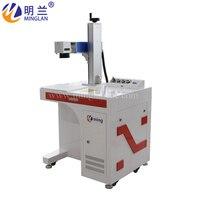 Inteligente e forte o suficiente de desktop máquina de marcação/máquina da marcação do laser para o metal