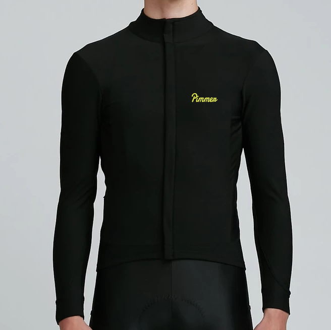 2019-Pimmer-Winter-best-quality-high-density-Brushing-fabric-pro-aero-cycling-jersey-long-sleeve-thermal