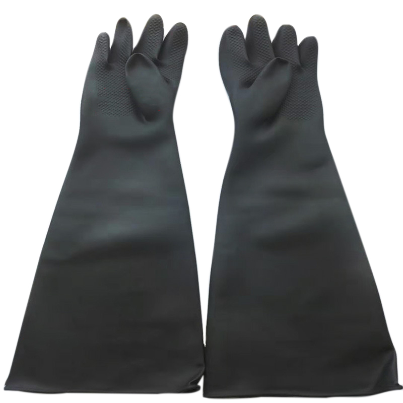 Sand Blasting Gloves For Sandblast Cabinet Gloves 60x20cm
