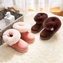 snow boots kids Winter shoes for girl girls sneakers toddler pink