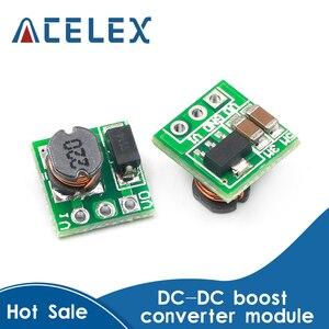 5 uds DC 1,8 V 2,5 V 3V 3,3 V 3,7 V a 5V aumento de la fuente de alimentación Módulo de convertidor de potencia módulo regulador 18650 batería li-on