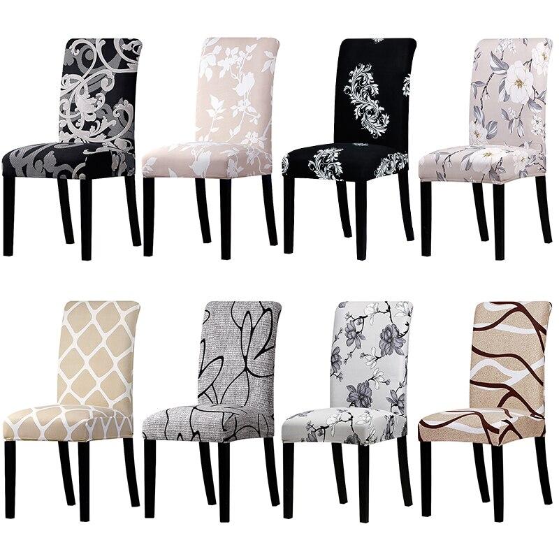 Büyük elastik koltuk sandalye kılıfı ofis koltuğu Slipcovers restoran ziyafet otel ev dekorasyon