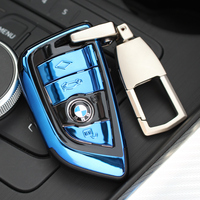 ABS Car Key Case Cover For BMW X1 X3 X5 X6 Series 1 2 5 7 F15 F16 E53 E70 E39 F10 F30 G30 Car key Fob Shell Protecor|Key Case for Car| |  -