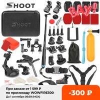 SCHIEßEN Action Kamera Zubehör für GoPro Hero 9 8 7 5 Schwarz Xiaomi Yi 4K SJCAM SJ8 Pro M20 eken H9 Insta360 Eine X2 Gehen Pro Halterung