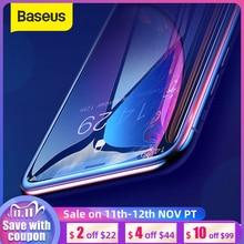 Baseus 2個0.23ミリメートルフルカバレッジ強化ガラス12プロマックス12スクリーンプロテクター薄型保護ガラスiphone xr