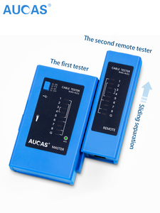 Image 5 - AUCAS Professional Network Cable Tester rj45  LAN Ethernet  Cable Tester tool LAN Networking Tool network Repair  instruments