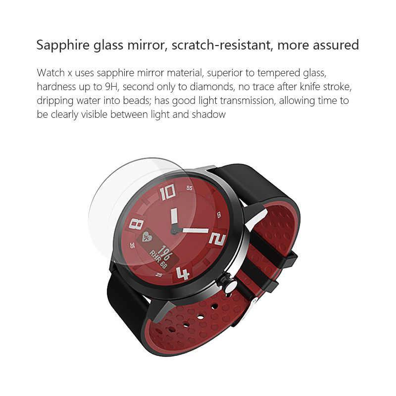 Lenovo חכם שעון קצב לב לחץ דם שעון Bluetooth 5.0 OLED ספיר מראה ספורט Smartwatch מתכת גברים של Watchs